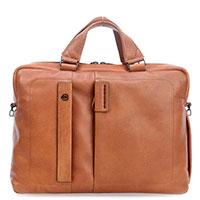 Мужской портфель Piquadro Pulse в коричневом цвете, фото