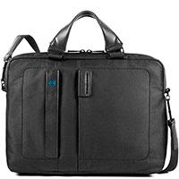 Мужской портфель Piquadro Pulse с секцией для ноутбука, фото
