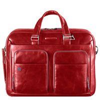 Многофункциональный портфель Piquadro Blue Square красный, фото