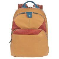 Рюкзак Piquadro Coleos складной с отделением для iPad желтый, фото