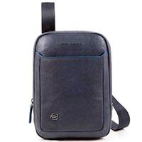 Вертикальная сумка Piquadro B2S на ремне , фото
