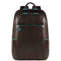 Серый рюкзак Piquadro Bl Square с отделением для ноутбука, фото