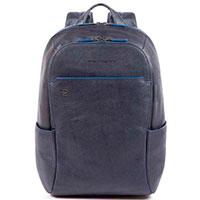 Рюкзак Piquadro B2S с отделением для ноутбука синего цвета, фото
