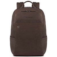 Коричневый рюкзак Piquadro Bk Square с отделением для ноутбука, фото