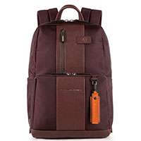 Рюкзак Piquadro Brief с отделением для ноутбука в коричневом цвете, фото