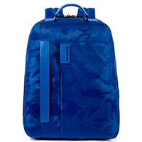 Рюкзак Piquadro Pulse с отделением для ноутбука синего цвета, фото