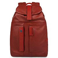 Рюкзак Piquadro Pulse красного цвета, фото