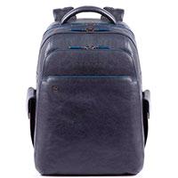 Синий рюкзак Piquadro B2S с отделением для ноутбука, фото