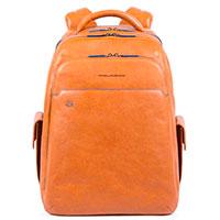 Коричневый рюкзак Piquadro B2S с отделением для ноутбука, фото