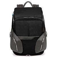Рюкзак Piquadro Coleos с чехлом от дождя черного цвета, фото