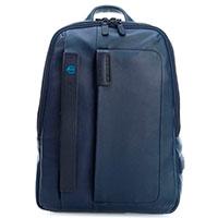 Темно-синий рюкзак Piquadro Pulse, фото