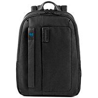Черный рюкзак Piquadro Pulse , фото