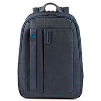 Синий рюкзак Piquadro Pulse с отделением для ноутбука, фото