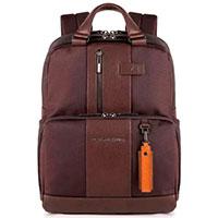 Рюкзак Piquadro Brief коричневого цвета, фото
