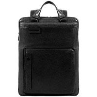 Рюкзак Piquadro Pulse черного цвета с RFID защитой, фото