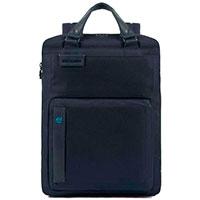 Рюкзак Piquadro Pulse с секцией для ноутбука синего цвета, фото