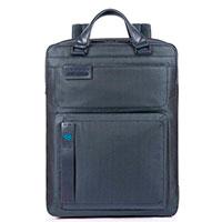 Мужской рюкзак Piquadro Pulse синего цвета, фото