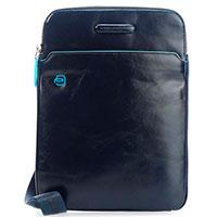 Мужская сумка Piquadro Bl Square синего цвета, фото