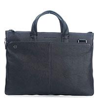 Мужская сумка Piquadro Bk Square синего цвета, фото