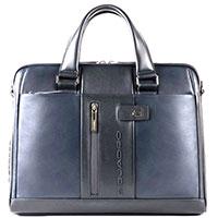 Синий портфель Piquadro Urban с отделением для ноутбука, фото