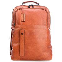 Рюкзак Piquadro Pulse коричневого цвета для поездок, фото