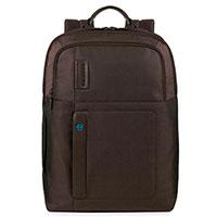 Рюкзак Piquadro Pulse в коричневом цвете с отделением для ноутбука, фото