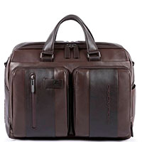 Коричневый портфель Piquadro Urban с отделением для ноутбука, фото