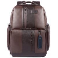 Мужской рюкзак Piquadro Urban из коричневой кожи, фото