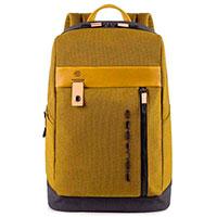 Рюкзак Piquadro Blade с отделением для ноутбука желтого цвета, фото