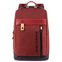 Рюкзак Piquadro Blade с отделением для ноутбука красного цвета, фото