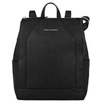 Рюкзак Piquadro Muse с отделением для ноутбука в черном цвете, фото