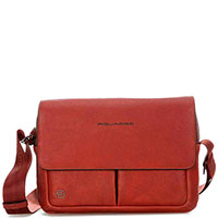 Мужская сумка Piquadro Bk Square коричневого цвета, фото