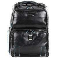 Рюкзак Piquadro Blue Square в черном цвете, фото