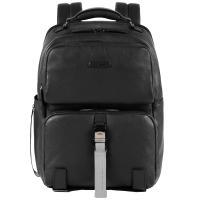Черный рюкзак Piquadro Modus с отделением для ноутбука, фото