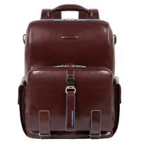 Рюкзак Piquadro Blue Square из коричневой кожи, фото