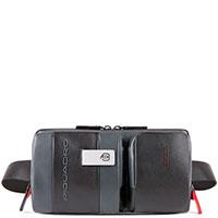 Сумка Piquadro Urban на пояс с RFID защитой , фото