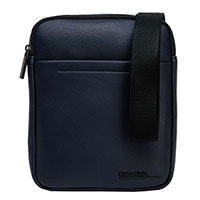 Мужская сумка Calvin Klein синего цвета, фото