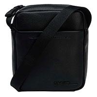 Сумка Calvin Klein черная с накладным карманом, фото