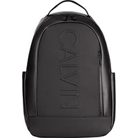 Черный рюкзак Emporio Armani с карманом на молнии, фото