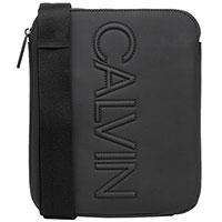 Прямоугольная сумка Calvin Klein черного цвета, фото