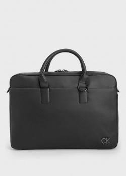 Сумка для ноутбука Calvin Klein черного цвета, фото