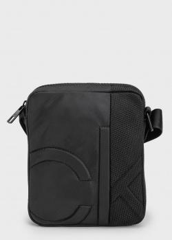 Мужская сумка Calvin Klein с сетчатой вставкой, фото