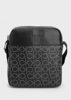 Сумка Calvin Klein с брендовым принтом, фото