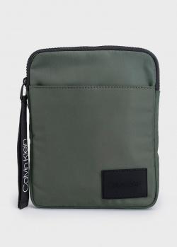 Мужская сумка Calvin Klein с нашивкой, фото