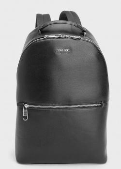 Черный рюкзак Calvin Klein из экокожи, фото