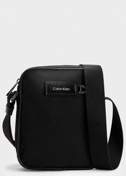 Сумка через плечо Calvin Klein на широком ремне, фото