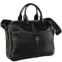 Черная сумка S.T.Dupont со съемным ремнем, фото