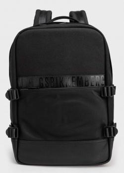 Мужской рюкзак Bikkembergs в черном цвете, фото