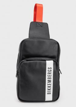 Сумка-рюкзак Bikkembergs на оранжевом ремне, фото