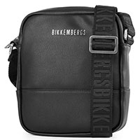Мужская черная сумка Bikkembergs на 1 отделение, фото